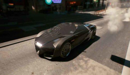 【サイバーパンク2077】ブルース・ウェインの車!?隠し車「カリバーン」の入手方法を紹介【バットマン小ネタ】