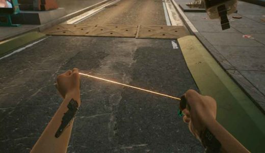【サイバーパンク2077】ムチ武器「モノワイヤー(レジェンダリー)」の入手方法を紹介
